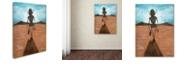 """Trademark Global Craig Snodgrass 'A Long Walk' Canvas Art, 18"""" x 24"""""""