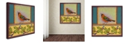"Trademark Global Rachel Paxton 'Oriole' Canvas Art, 14"" x 14"""