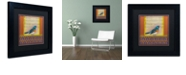 "Trademark Global Rachel Paxton 'Indigo Bunting' Matted Framed Art, 11"" x 11"""