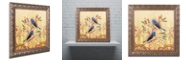 "Trademark Global Rachel Paxton 'Nesting Northern Juncos' Ornate Framed Art, 11"" x 11"""
