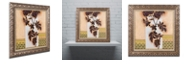 "Trademark Global Rachel Paxton 'Brown Rose 6' Ornate Framed Art, 11"" x 11"""