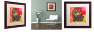 """Trademark Global Dean Russo 'Baby Albert' Matted Framed Art, 16"""" x 16"""""""