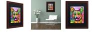 "Trademark Global Dean Russo 'Corgi II' Matted Framed Art, 16"" x 20"""