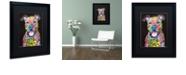"Trademark Global Dean Russo 'I Fear' Matted Framed Art, 16"" x 20"""