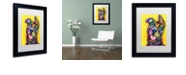 """Trademark Global Dean Russo 'My Favorite Breed' Matted Framed Art, 11"""" x 14"""""""