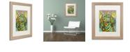 "Trademark Global Dean Russo 'Basset Luv' Matted Framed Art, 16"" x 20"""