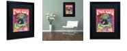 "Trademark Global Dean Russo 'Pug Luv' Matted Framed Art, 16"" x 20"""