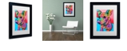 "Trademark Global Dean Russo 'Jack' Matted Framed Art, 11"" x 14"""