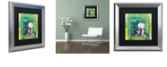 "Trademark Global Dean Russo 'Boba Fett' Matted Framed Art, 16"" x 16"""