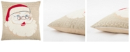 "Rizzy Home 20"" x 20"" Santa Clause Pillow Collection"