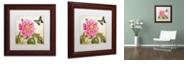 "Trademark Global Color Bakery 'Aja' Matted Framed Art, 11"" x 11"""