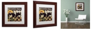 """Trademark Global Color Bakery 'Vermont Farms Ii' Matted Framed Art, 11"""" x 11"""""""