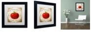 "Trademark Global Color Bakery 'Mangia Ii' Matted Framed Art, 11"" x 11"""