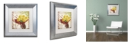"Trademark Global Color Bakery 'Vermont Summer Ii' Matted Framed Art, 11"" x 11"""