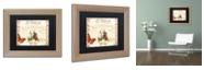 "Trademark Global Color Bakery 'Vermont Summer X' Matted Framed Art, 11"" x 14"""