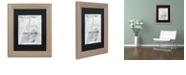 "Trademark Global Color Bakery 'Summer Me Iii' Matted Framed Art, 11"" x 14"""