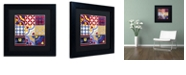 """Trademark Global Color Bakery 'Poulets Iii' Matted Framed Art, 11"""" x 11"""""""