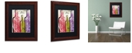 "Trademark Global Color Bakery 'Wine Tasting Ii' Matted Framed Art, 11"" x 14"""
