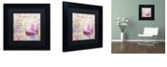 """Trademark Global Color Bakery 'Cocktail Quartet Iv' Matted Framed Art, 11"""" x 11"""""""