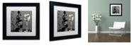 "Trademark Global Color Bakery 'Vin Elegant Ii' Matted Framed Art, 11"" x 11"""