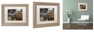 """Trademark Global Color Bakery 'Cabela I' Matted Framed Art, 11"""" x 14"""""""