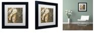 """Trademark Global Color Bakery 'Danse I' Matted Framed Art, 11"""" x 11"""""""