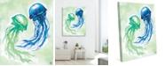 "Creative Gallery Jellyfish Dance 16"" X 20"" Canvas Wall Art Print"