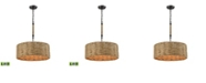 ELK Lighting Weaverton 3 Light Chandelier in Oil Rubbed Bronze