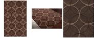 Surya CLOSEOUT!  Cosmopolitan COS-8868 Dark Brown 2' x 3' Area Rug