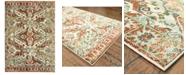 "Oriental Weavers Dawson 8533A Rust/Ivory 9'10"" x 12'10"" Area Rug"