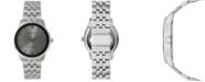 Geoffrey Beene Genuine Black Diamond Dial Bracelet Watch