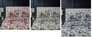 Tribeca Living Mountain Toile Heavyweight Flannel King Sheet Set