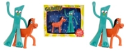 Gumby NJ Croce 1950s and Pokey Bendable Figures