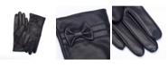 Royce Leather Royce New York Lambskin Women's Touchscreen Cashmere Gloves