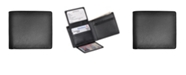 Royce Leather Royce New York Bifold Wallet with Zippered Coin Slot