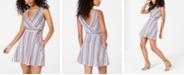 Speechless Juniors' Striped A-Line Dress