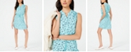 Maison Jules Printed Fit & Flare Dress, Created for Macy's
