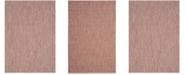 "Safavieh Courtyard Red and Beige 6'7"" x 9'6"" Sisal Weave Area Rug"