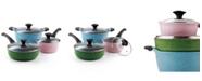 Cook N Home 6-Piece Nonstick Ceramic Coating Cookware Set