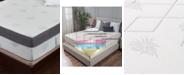 "Om Aloe 15"" Medium Firm Mattress - King, Mattress in a Box"