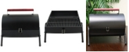 Delwin 5 Piece Barrel BBQ Set with Wood Handle