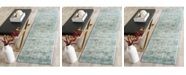 """Safavieh Valencia Light Blue and Turquoise 2'3"""" x 12' Runner Area Rug"""