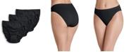 Jockey Women's 3-Pk. Seamfree® Breathe Knit French-Cut Brief Underwear 1684
