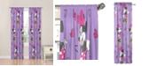 "Disney Minnie Mouse Purple Love 84"" Drapes"