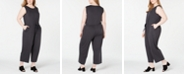 Eileen Fisher Plus Size Drawstring Tencel ™ Jumpsuit