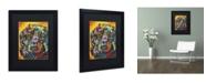 "Trademark Global Dean Russo 'Brilliant Dachshund' Matted Framed Art - 16"" x 20"" x 0.5"""
