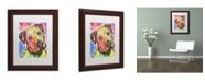 """Trademark Global Dean Russo 'Innocent' Matted Framed Art - 14"""" x 11"""" x 0.5"""""""