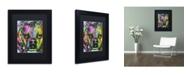 """Trademark Global Dean Russo '23' Matted Framed Art - 11"""" x 14"""" x 0.5"""""""