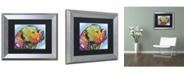 """Trademark Global Dean Russo '24' Matted Framed Art - 14"""" x 11"""" x 0.5"""""""