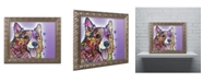 "Trademark Global Dean Russo 'Corgi' Ornate Framed Art - 14"" x 11"" x 0.5"""